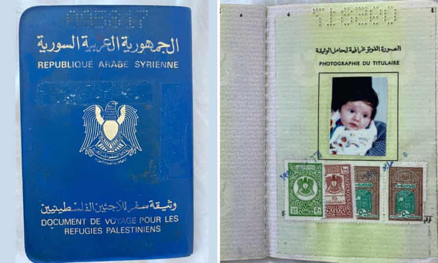 Jeanine Hourani's first identity document was a travel document issued by Syria to stateless Palestinians. She is now an Australian citizen