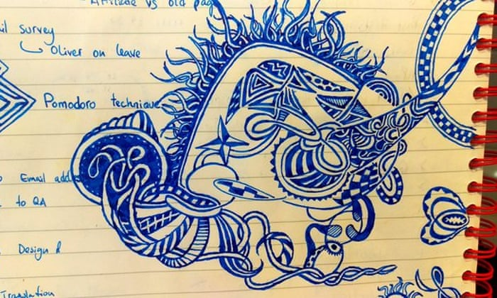 What Your Work Doodles Really Say About You Guardian Careers The