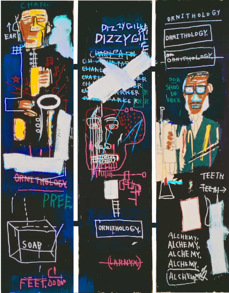 Jean-Michel Basquiat, Horn Players, 1983.