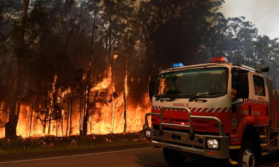 RFS firefighters
