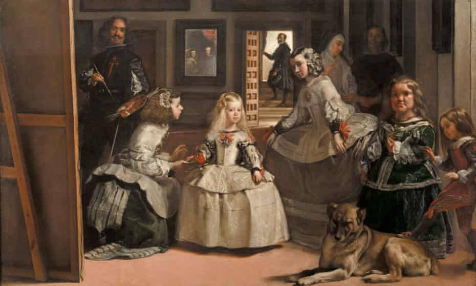 'The painter is a rare fixed point' … from Las Meninas by Diego Velázquez.
