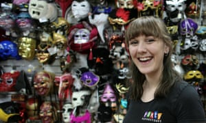 Amy at the Party Shop: 'I'm a supervisor. I used to be a sales assistant.'