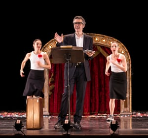 'It started as a joke': Ira Glass performs with Monica Bill Barnes and Anna Bass.