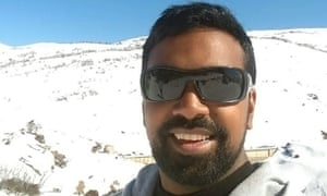 Rav Pillay, who was among the victims when a whale watching boat capsized in Canada on Sunday. Photo from Facebook.