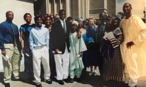 Uzodinma Iweala family photo, Washington DC