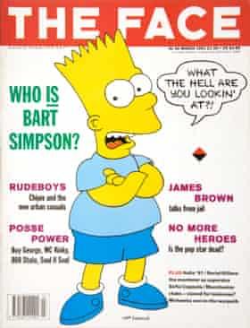 Bart Simpson in 1991
