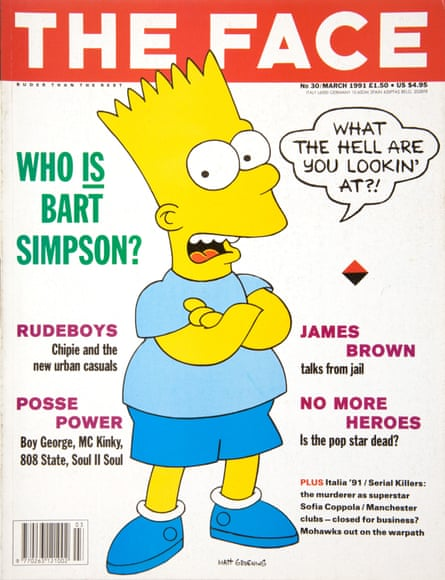 Bart Simpson in 1991
