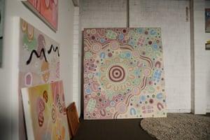 Karen Lees studio in Glenmore Park