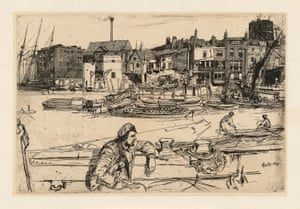 Black Lion Wharf (1859) by James McNeill Whistler