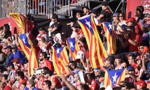 Girona fans
