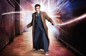 The rock star years ... David Tennant as the Doctor.