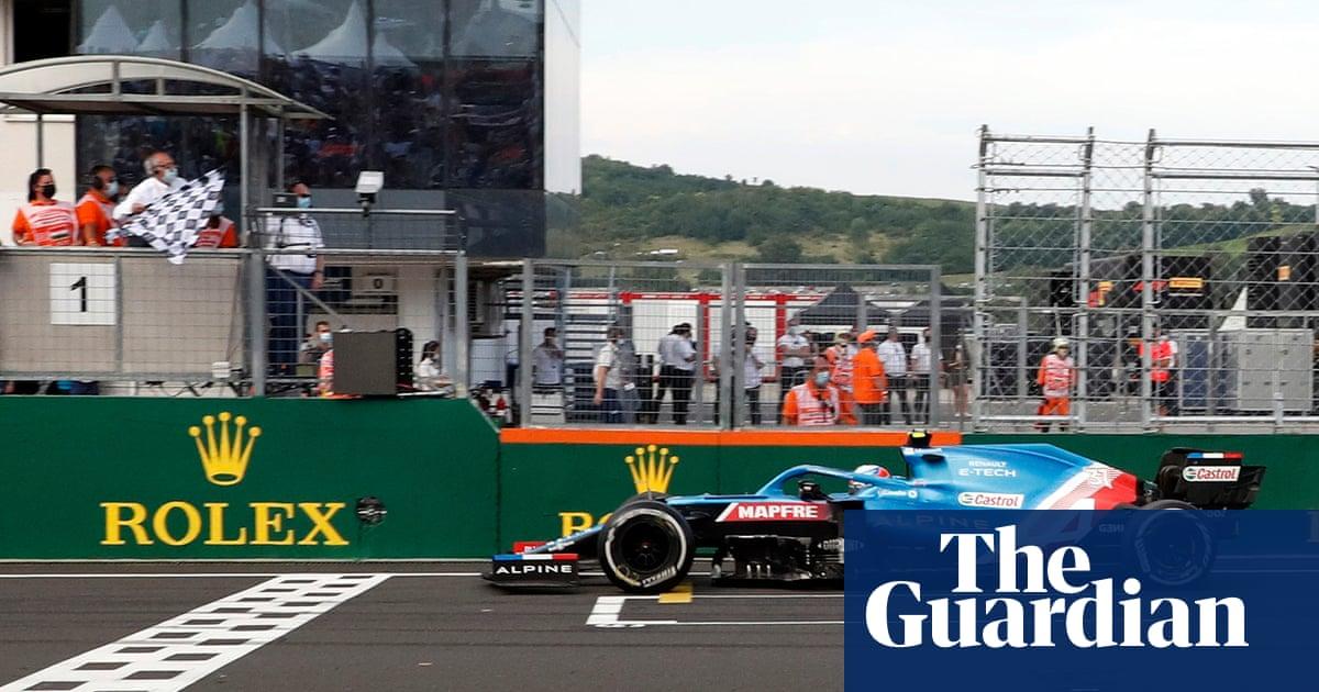 Esteban Ocon claims maiden F1 win in chaotic Hungarian Grand Prix