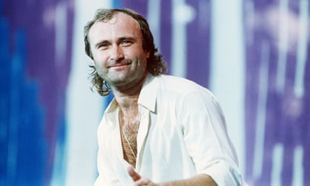 Phil Collins … Did he miss again? No.