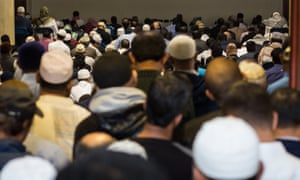 Ramadan at the East London Mosque.
