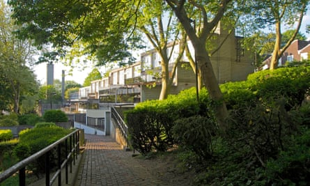 Central Hill estate in Crystal Palace, London
