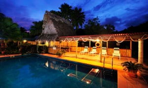 The Kosrae Nautilus Resort was raffled off by its founders Doug and Sally Beitz.