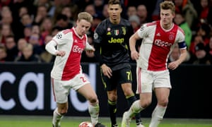 Frenkie de Jong (left) and Matthijs de Ligt have gained valuable experience playing in the Champions League, which benefits the Netherlands.