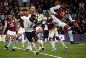 Liverpool were on course for their first defeat at Villa Park in November, but late goals from Robertson and Mané earned a dramatic win.
