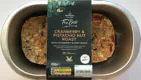 Morrissons cranberry pistachio nut roast