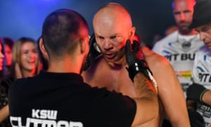 MMA Fighters in the Polish film Underdog