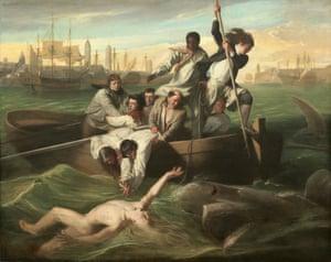 Watson and the Shark, 1778, by John Singleton Copley.