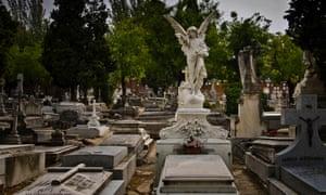 Almudena cemetery in Madrid