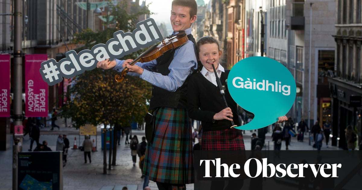 Welsh, Hawaiian and Navajo … now Gaelic is in line for a rescue
