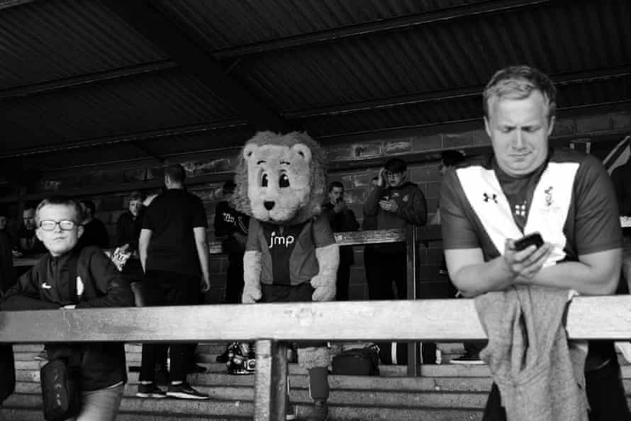 Mascot 'Yorkie' looks dejected