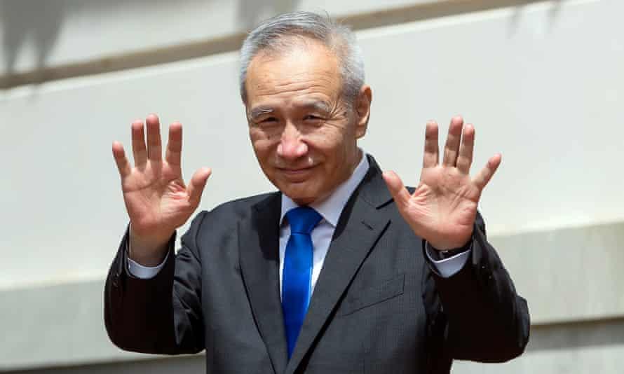 The Chinese vice-premier, Liu He.
