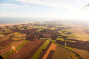 Global warming of 3C would swamp most of the farm fields and much of the coastline in Lincolnshire.
