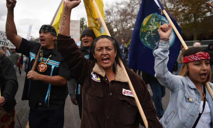 dakota pipeline marchers