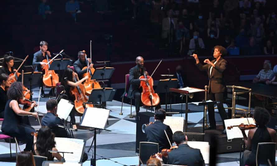 Kalena Bovell leads Chineke!  at the Proms 2021