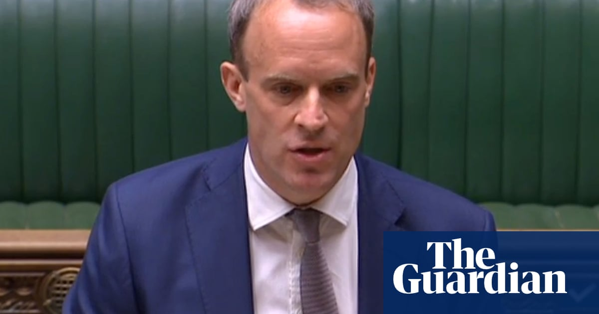 Raab calls for alliance to force China to step back over Hong Kong