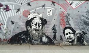 Bogotá street art.