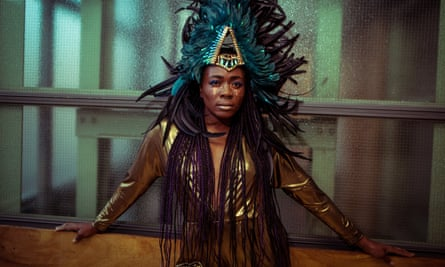 Rachael Young in Nightclubbing at the Camden People's theatre.