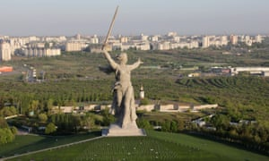 'An empty and inhuman display of Stalinist kitsch' … the Motherland Calls monument commemorating the battle of Stalingrad in Russia.