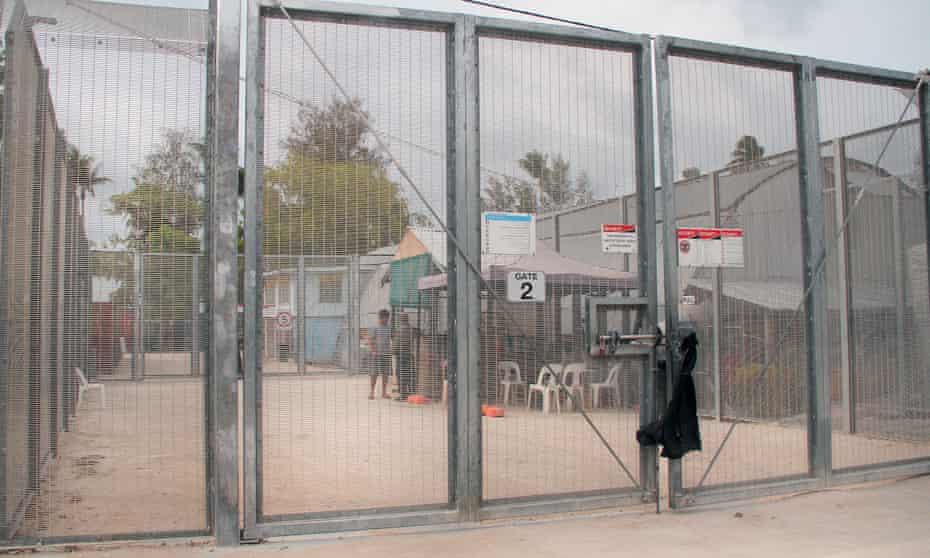 The Australian-run asylum seeker detention centre on Manus Island in Papua New Guinea before it was closed in 2017.