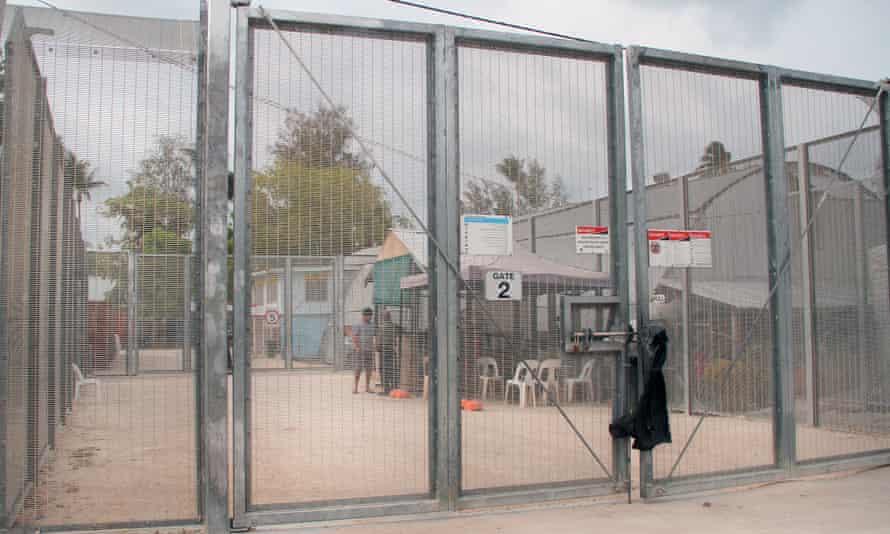 Asylum seeker detention centre