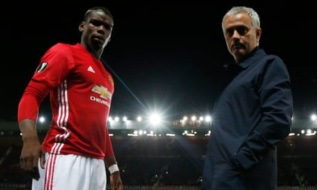 José Mourinho says Paul Pogba could be future Manchester United captain