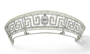 The Cartier tiara that once belonged to Marguerite Allan.