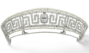 Cartier tiara that was owned by Lady Allan
