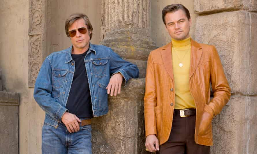 Brad Pitt and Loenardo DiCaprio star in Once Upon a Time in Hollywood.