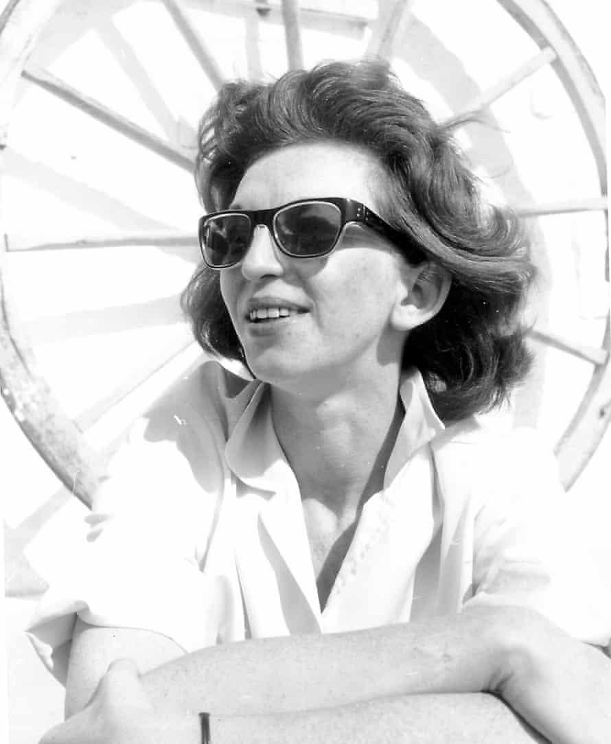 Edna Tromans in her heyday as a film publicist.