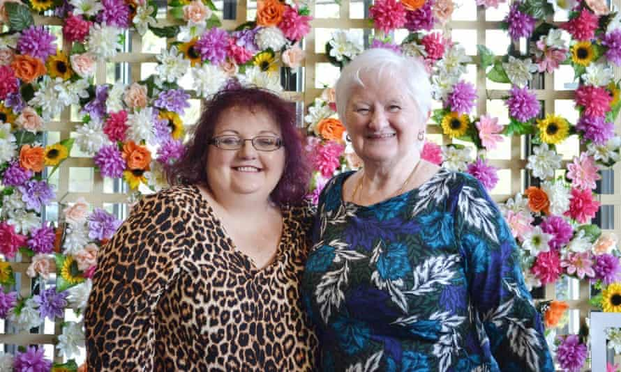 Caroline McClarin, who has vascular Ehlers-Danlos syndrome, with her mother and full-time carer Margaret McClarin.