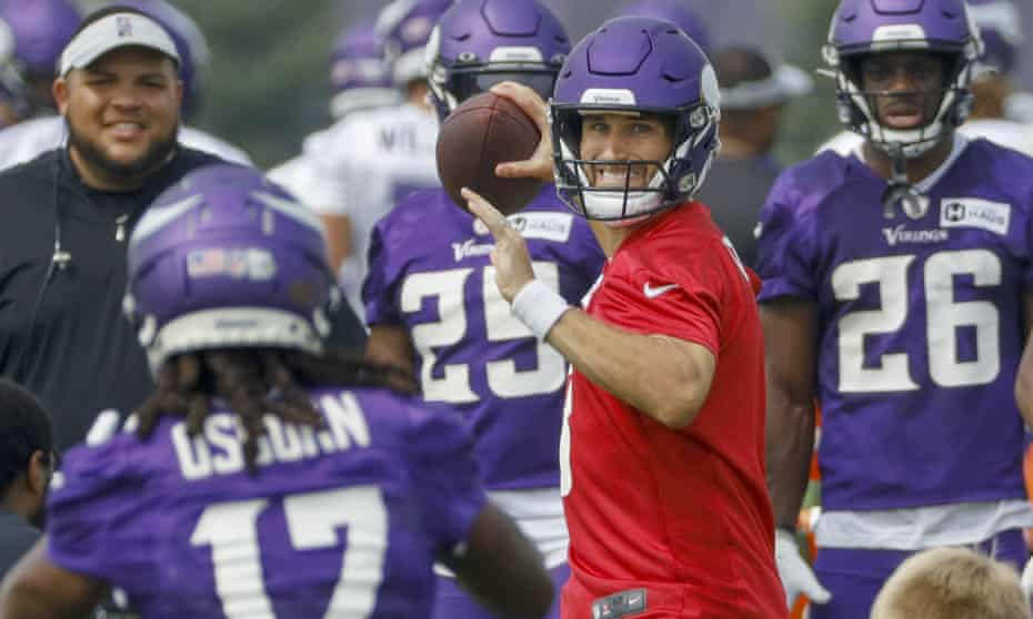 Minnesota Vikings quarterback Kirk Cousins says he is 'still doing research' when it comes to the Covid-19 vaccine