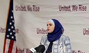 US Senate candidate Deedra Abboud announced her candidacy in April 10 2017