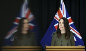 The New Zealand prime minister, Jacinda Ardern, provides an update on the upcoming elections while Covid-19 restrictions remain in place