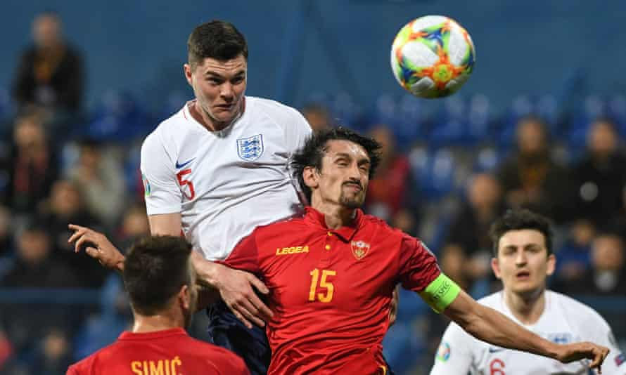 Michael Keane was at fault for Montenegro's goal but kickstarted England's comeback with the equaliser.
