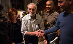 Jeremy Corbyn, the favourite in the Labour leadership contest, in Cambridge earlier this week. Voting in the contest closes at midday.