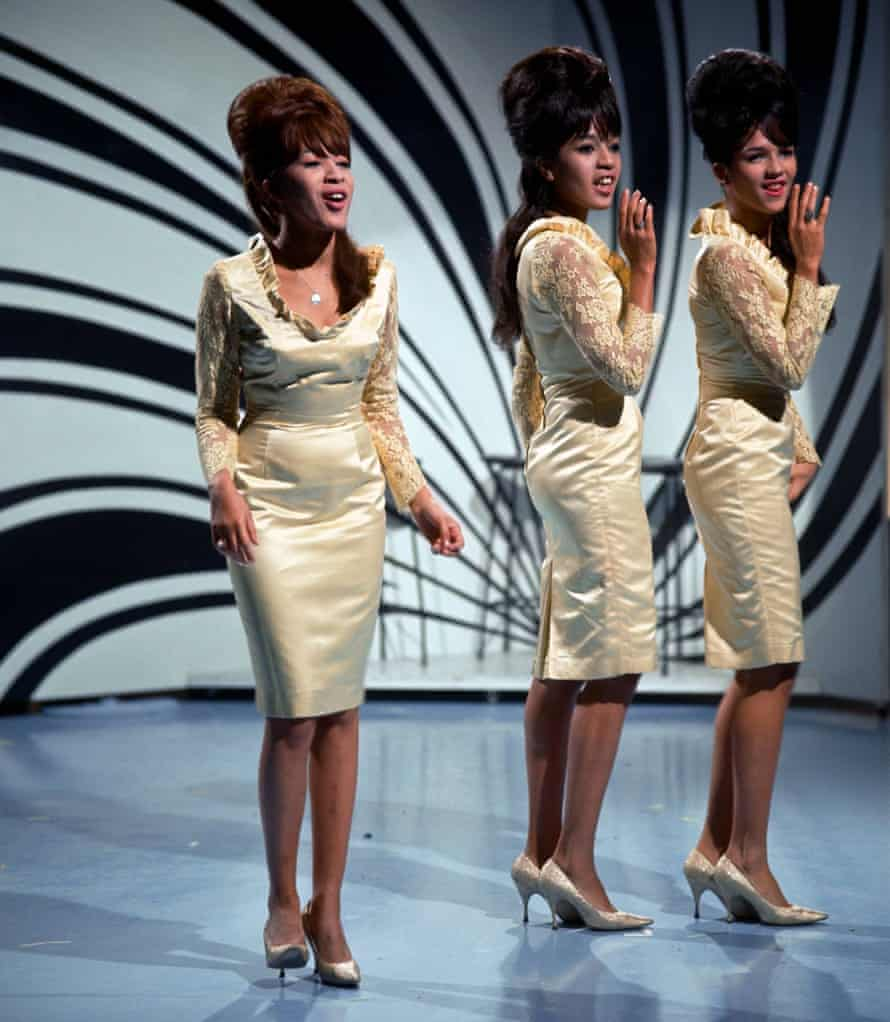 The Ronettes in the 60s.